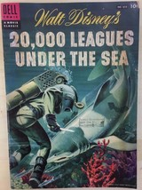 20,000 LEAGUES UNDER THE SEA (1954) Dell Four Color Comics #614 VG+/FINE- - $19.79