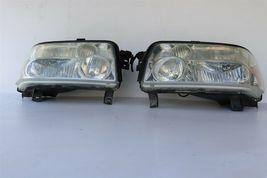 04-10 Infiniti QX56 Xenon HID Headlight Head Light Lamps Set LH & RH -POLISHED image 4