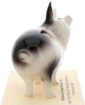 Hagen-Renaker Miniature Ceramic Pig Figurine Spotted Papa Pig image 4