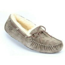 UGG Dakota Womens Suede Sheepskin Slippers Espresso 5612 Size 6 NEW AUTH... - $76.94