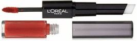 L'Oreal Paris Infallible 24 HR 2 Step Duo Lip Color -219 Incessant Russet - $7.84