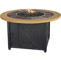 Propane Gas Fire Pit Round Coffee Table Kit Steel Firebowl For Patio Furniture Fire Pits