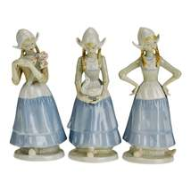Vintage Crown Royals Porcelain Figurines - Set of 3 - $135.00