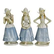 Vintage Crown Royals Porcelain Figurines - Set of 3 - $135.00
