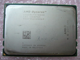 Qty 1x Amd Opteron 6284 Se 2.7 G Hz Sixteen Core (OS6284YETGGGU) Cpu - $256.00