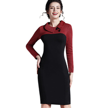 Elegant Womens Office Lady Formal Business Work Party Sheath Tunic Pencil Dress - $35.00