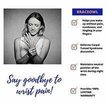 Carpal Tunnel Wrist Brace, Night Sleep Wrist Splint for Both Right Hand and Left image 5