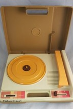 Vintage Fisher Price Portable Record Player 1978 - 33 45 RPM  - $70.13