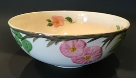"""Desert Rose Franciscan Large 9"""" Serving Bowl Made In England 50th Anniversary - $99.99"""