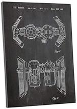 """Pingo World 1223PKKD3RG """"Star Wars Imperial Bomber"""" Gallery Wrapped Canvas Print - $54.40"""