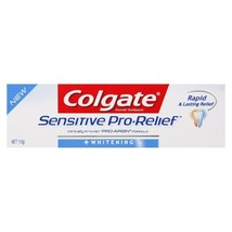 Colgate Sensitive Pro Relief Whitening 4 Ounce(113g) Toothpaste Cool Mint - $12.99