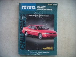 Toyota Camry,  Chilton's Repair Manual, Service Guide 1983-1996. Complet... - $14.70