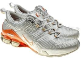 Nike Shox Energia Womens Running Training Shoes Size 8.5 Silver Orange V... - €42,94 EUR