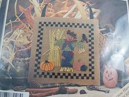 Mill Hill Scarecrow Harvest Buttoned and Beaded Counted Cross Stitch Kit MHCB28 - $9.89