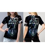 "Luna ""the Moon Rider"" Women's Fullprint T- Shirt - $20.99+"