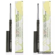 Clinique Lot of 2 High Impact Automatic Kajal Eyeliner Blackened Green F... - $22.20
