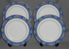 Set (4) ROYAL DOULTON Bone China AUSTIN PATTERN Dinner Plates MADE IN EN... - $71.27