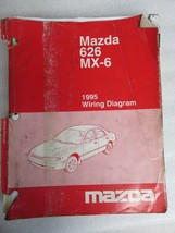 1995 Mazda 626 MX-6 Electrical Wiring Diagrams Service Manual OEM Factory Shop - $12.61