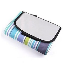 KLOUD City X-large Water-resistant Polyester Blue Stripe Soft Outdoor Pi... - $23.71