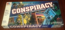 1982 Milton Bradley # 4202 Conspiracy Spy Game Of Bluffing & Betrayal - $18.95