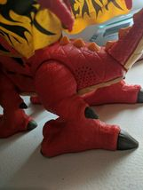 Fisher Price Imaginext Red Winged Eagle Talon Castle Dragon W Sounds! Works!! image 6