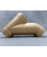"2"" Cast Brass C x C x C Long Turn T-Y Elkhart Products Item #10159271 - $23.90"
