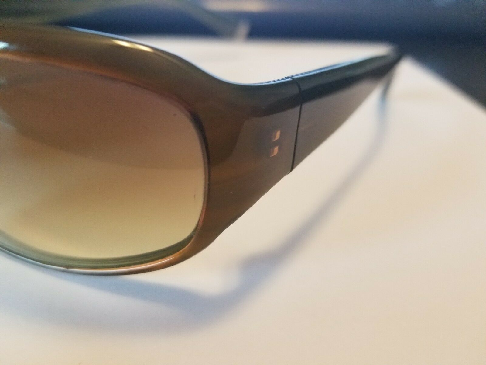 Authentic Oliver Peoples Kirra Tinted Sunglasses Brown Green 63 15-115 ..NEW image 4