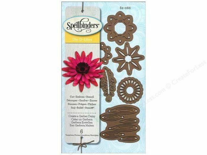 Spellbinders Die D-Lites Create a Gerber Daisy Die Set #S2-066