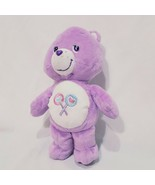"Care Bears Purple Lollipop Share Bear 11"" Stuffed Animal Plush 2003  - $14.99"