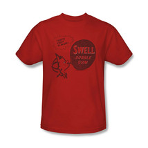 Swell Bubble Gum T-shirt Free Shipping candy cotton distressed red tee DBL128 image 2