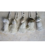 26 Shell Decor Tassels Huge Snake Cowry Indopacific Liquidation 6 FREE v... - $199.49