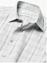 Calvin Klein Men's Dress Shirt Slim Fit Non Iron Stretch Beige Multi SEALED!!! image 2