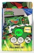 Jay Franco & Sons Rise Of The Teenage Mutant Ninja Turtles 4 Pc Full Sheet Set - $43.99