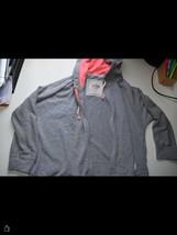 Hollister Gray Zipped Jacket Size S - $7.83