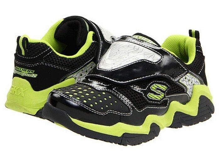 Skechers S-LIGHTS Luminators Si Illumina Athletic Scarpe Sneakers Nwt Youth 2 $ image 2