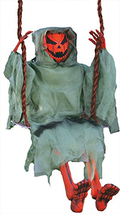 3 Foot Swinging Dead Pumpkin Reaper Halloween Prop - $56.75