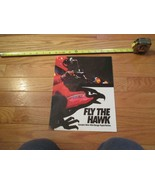 Honda Motorcycle Hawk Fly the Hawk Vintage Dealer Sales Brochure - $14.99