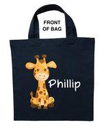 Giraffe Trick or Treat Bag, Giraffe Halloween Bag, Giraffe Loot Bag, Gir... - $11.99+