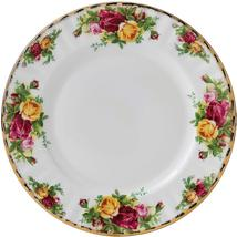 "Royal Albert ""Old Country Roses"" Set Of 8 Salad Plates Bone China 22K Gold New. - $394.90"