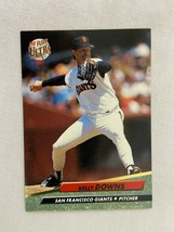 Kelly Downs San Francisco Giants 1992 Fleer Baseball Card 290 - $2.96