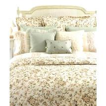 Ralph Lauren Bed Skirt Romantic Traveler Ivory King Dust Ruffle Floral 1... - $88.98