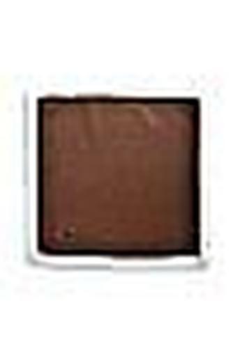 Frederick Thomas einfarbig dunkelbraun gestrickt EINSTECKTUCH MIT WEIßEN Borte