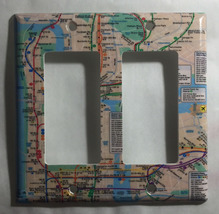 NYC New York City Subway Map Light Switch Outlet Wall Cover Plate Home decor image 5