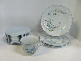 Mikasa Precious Blue Michelle Salad Plates, Bread & Butter Plates, Bowls, Cup - $6.92+