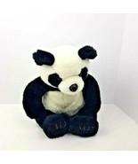 Build A Bear Panda With Sound World Wildlife Fund Large Plush Rare Stuff... - $29.70