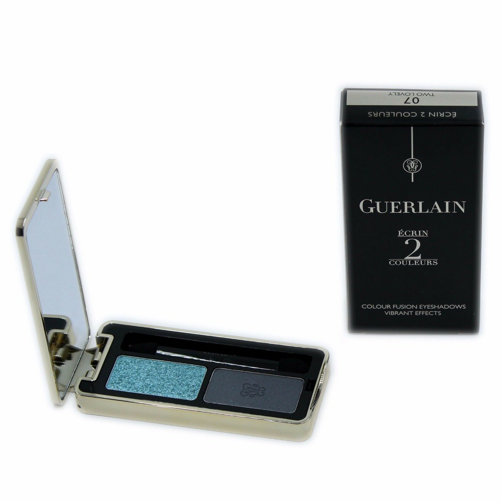 Primary image for GUERLAIN ECRIN 2 COULEURS COLOUR FUSION EYESHADOWS EFFETS VIBRANTS 4G #07-G41393