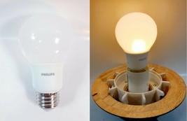 Lot Of 4 Philips Led A19 Light Bulb - Medium Base - 5.5W - Soft White - $9.92