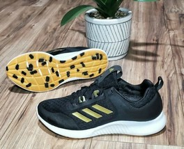 Adidas Edgebounce 1.5 Womens Size 9 Black Running Shoes - $64.34