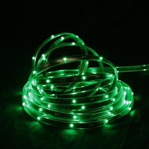 CC Christmas Decor 18' Green LED Christmas Linear Tape Lighting - Black ... - $30.48