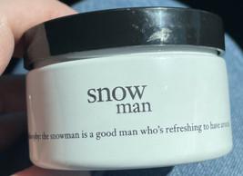New  Philosophy Snowman glazed body souffle 4oz. - $13.98